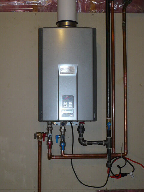 Water Heaters Instant Hot Water : Water heaters san diego plumbers black
