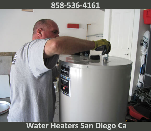we service water heaters san diego ca