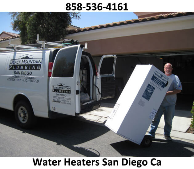 replace your water heater San Diego CA