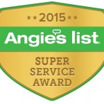 Angie's List Super Service Award to San Diego Plumbing Company
