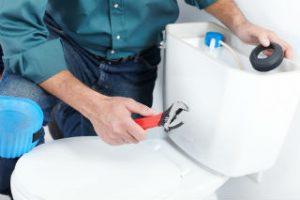 plumbing fixture repair - toilet water leak San Diego CA