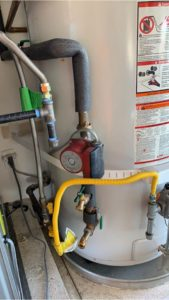 water heater temperature San Diego CA